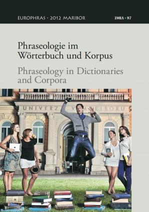 Naslovnica za Phraseologie im Wörterbuch und Korpus = Phraseology in dictionaries and corpora