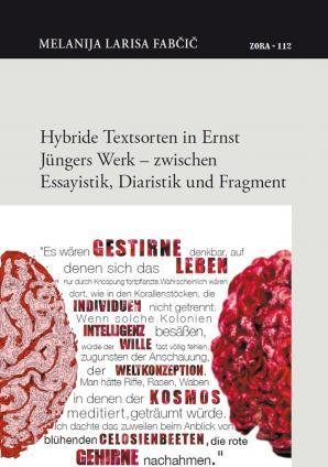 Naslovnica za Hybride Textsorten in Ernst Jüngers Werk – zwischen Essayistik, Diaristik und Fragment