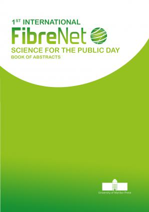Naslovnica za 1st International FibreNet Science for the Public Day: Book of Abstracts