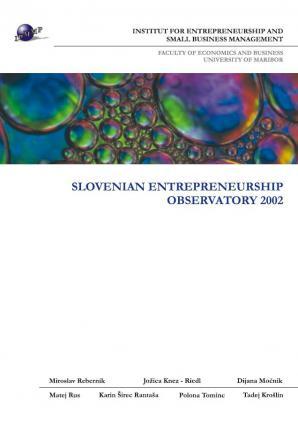 Naslovnica za Slovenian Entrepreneurship Observatory 2002