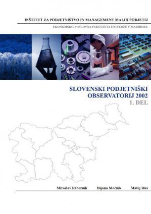 Naslovnica za Slovenski podjetniški observatorij 2002. (1. del)