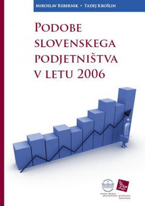 Naslovnica za Podobe slovenskega podjetništva v letu 2006