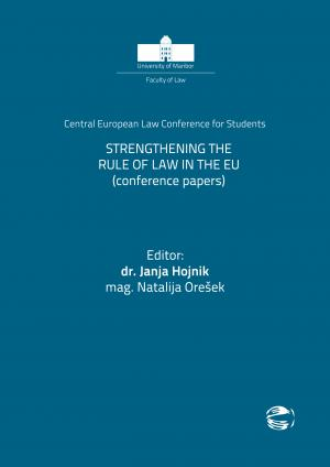 Naslovnica za Strengthening the Rule of Law in the EU: Conference Papers