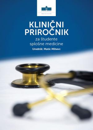 Naslovnica za Klinični priročnik za študente splošne medicine
