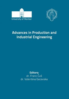 Naslovnica za Advances in Production and Industrial Engineering