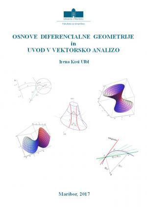 Naslovnica za Osnove diferencialne geometrije in uvod v vektorsko analizo