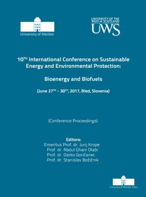 Naslovnica za Bioenergy and Biofuels: (conference proceedings) / 10th International Conference on Sustainable Energy and Environmental Protection, (June 27th-30th, 2017, Bled, Slovenia)