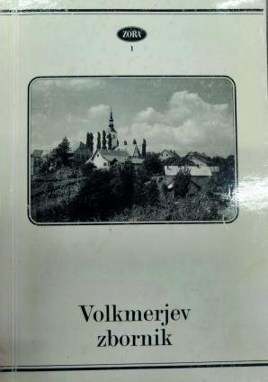Naslovnica za Volkmerjev zbornik