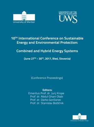 Naslovnica za Combined and hybrid energy systems: (conference proceedings) / 10th International Conference on Sustainable Energy and Environmental Protection, (June 27th-30th, 2017, Bled, Slovenia)