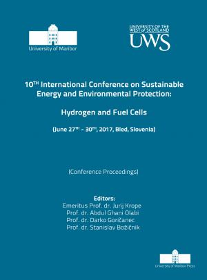 Naslovnica za Hydrogen and Fuel Cells: (conference proceedings) / 10th International Conference on Sustainable Energy and Environmental Protection, (June 27th-30th, 2017, Bled, Slovenia)