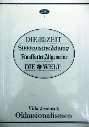Naslovnica za Okkasionalismen: ein Beitrag zur Lexikologie des Deutschen