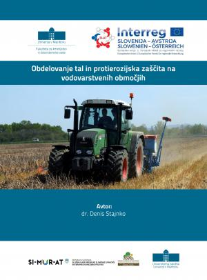 Naslovnica za Obdelovanje tal in protierozijska zaščita na vodovarstvenih območjih
