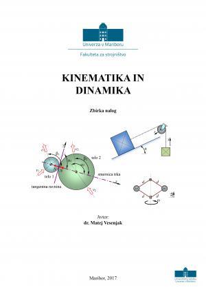 Naslovnica za Kinematika in dinamika: zbirka nalog