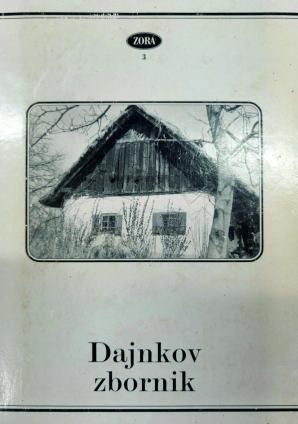 Naslovnica za Dajnkov zbornik: referati s simpozija v Črešnjevcih
