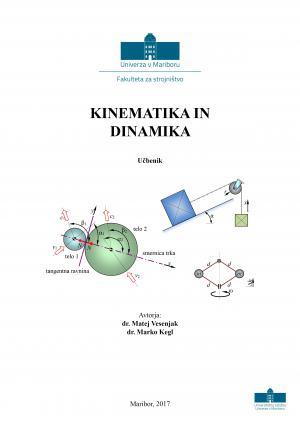 Naslovnica za Kinematika in dinamika: učbenik