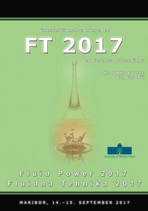 Naslovnica za Conference proceedings / International Conference Fluid Power 2017, September 14th - 15th, 2017, Maribor, Slovenia