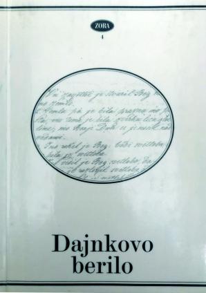 Naslovnica za Dajnkovo berilo