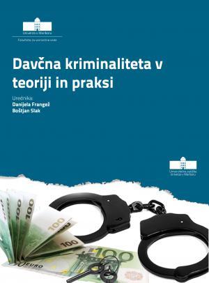 Naslovnica za Davčna kriminaliteta v teoriji in praksi