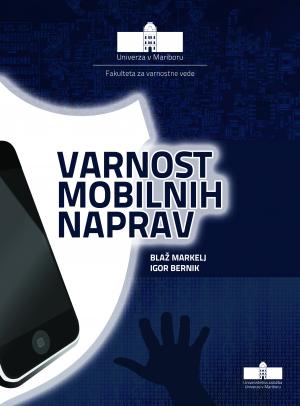 Naslovnica za Varnost mobilnih naprav
