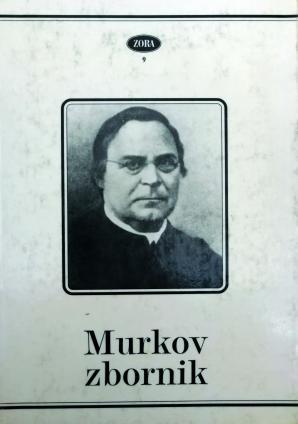 Naslovnica za Murkov zbornik: referati s Simpozija Anton Murko in njegov čas
