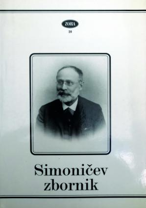 Naslovnica za Simoničev zbornik