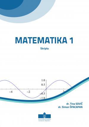 Naslovnica za Matematika 1: skripta