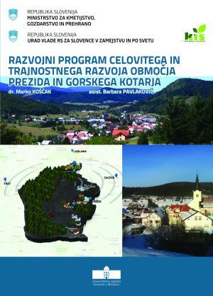 Naslovnica za Razvojni program celovitega in trajnostnega razvoja območja Prezida in Gorskega kotarja