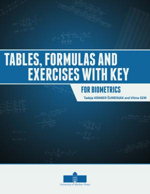 Naslovnica za Tables, Formulas and Exercises with Key for Biometrics