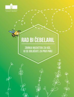 Naslovnica za Rad bi čebelaril: zbirka nasvetov za vse, ki se odločate za prvi panj