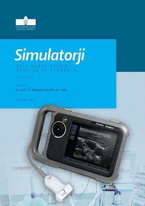 Naslovnica za Simulatorji: opis učnih vsebin: gradivo za študente, 1. zvezek