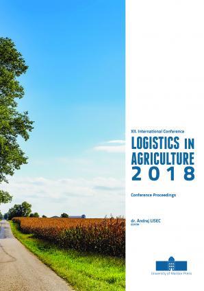 Naslovnica za Conference proceedings / XII. International Conference on Logistics in Agriculture 2018, [Novo mesto, Slovenia, 15 November 2018]