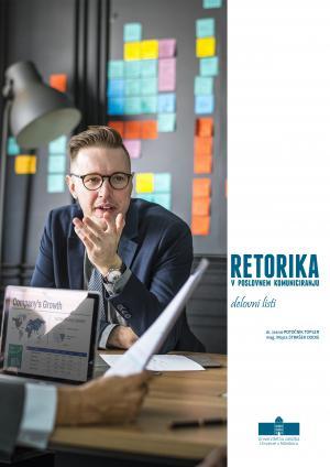 Naslovnica za Retorika v poslovnem komuniciranju: delovni listi