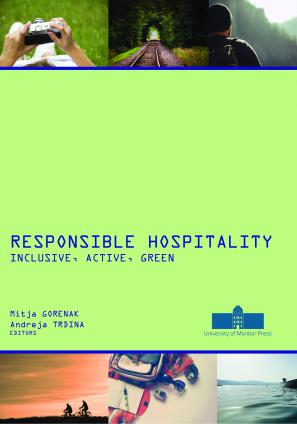 Naslovnica za Responsible Hospitality: Inclusive, Active, Green
