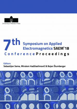 Naslovnica za Conference Proceedings: 7th International Symposium on Applied Electromagnetics SAEM 18