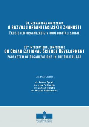 Naslovnica za Ekosistem organizacij v dobi digitalizacije: konferenčni zbornik