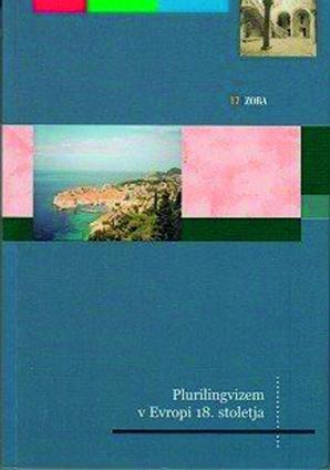 Naslovnica za Plurilingvizem v Evropi 18. stoletja