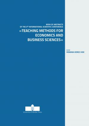 Naslovnica za Teaching Methods for Economics and Business Sciences: Book of Abstracts of the 3rd International Scientific Conference