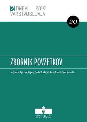 Naslovnica za Zbornik povzetkov / 20. dnevi varstvoslovja, Dolenjske Toplice