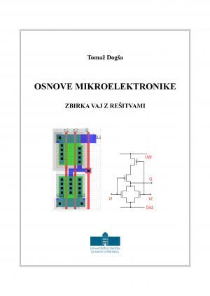 Naslovnica za Osnove mikroelektronike: Zbirka vaj z rešitvami