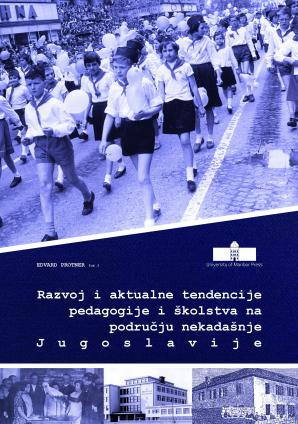 Naslovnica za Razvoj i aktualne tendencije pedagogije i školstva na području nekadašnje Jugoslavije