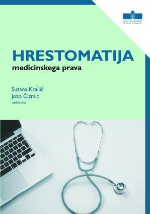 Naslovnica za Hrestomatija medicinskega prava