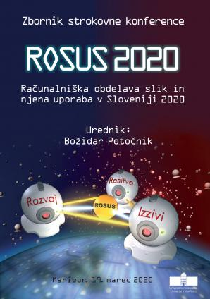 Naslovnica za ROSUS 2020 - Računalniška obdelava slik in njena uporaba v Sloveniji 2020