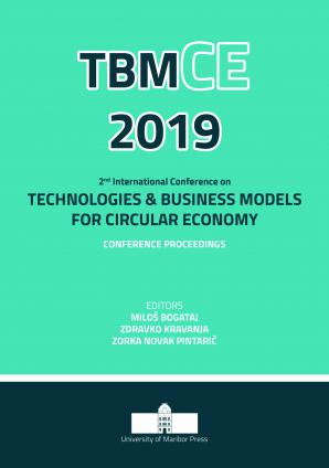Naslovnica za 2nd International Conference on  Technologies & Business Models for Circular Economy: Conference Proceedings