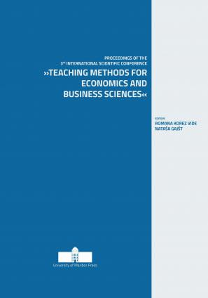 Naslovnica za Teaching Methods for Economics and Business Sciences: Proceedings of the 3rd International Scientific Conference