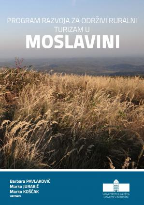 Naslovnica za Program razvoja za održivi ruralni turizam u Moslavini