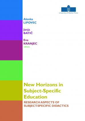 Naslovnica za New Horizons in Subject-Specific Education: Research Aspects of Subject-Specific Didactics