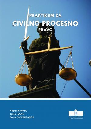 Naslovnica za Praktikum za civilno procesno pravo