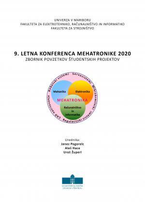 Naslovnica za 9. letna konferenca mehatronike 2020: Zbornik povzetkov študentskih projektov