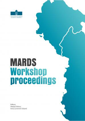 Naslovnica za MARDS Workshop Proceedings