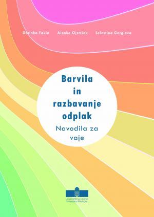 Naslovnica za Barvila in razbarvanje odplak: Navodila za vaje